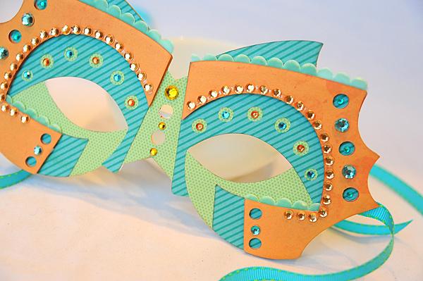 Cricut fantasy masks jana eubank for Michaels crafts wausau wi