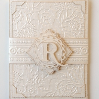 Cuttlebug Anna Griffin Embossing Folders - POPPY