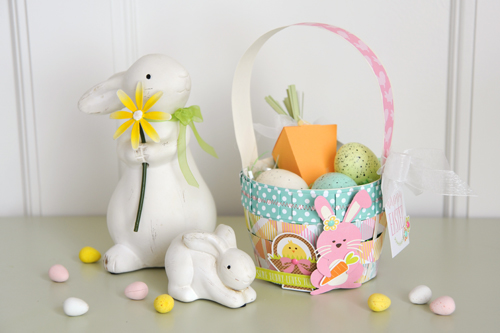 Jana Eubank Die Cut Easter Basket Photo 1