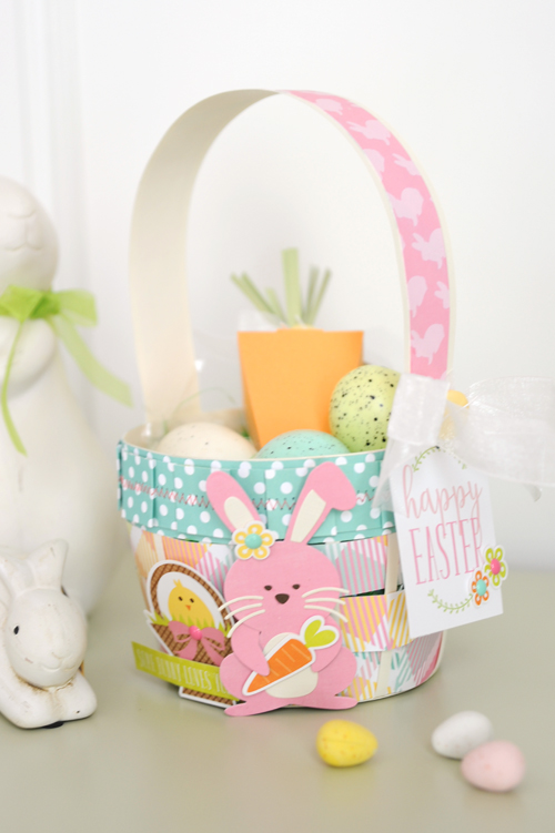 Jana Eubank Die Cut Easter Basket Photo 3