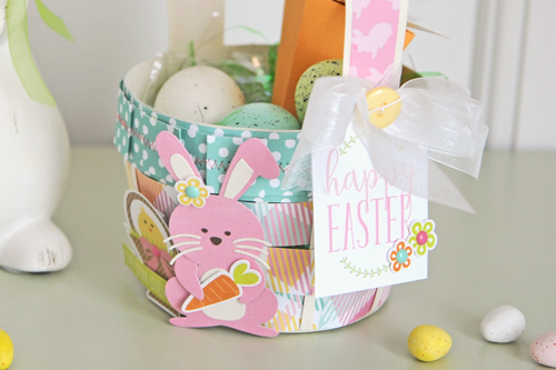 Jana Eubank Die Cut Easter Basket Photo 4