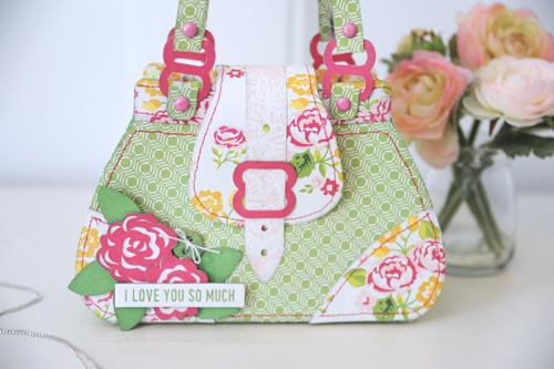 Jana Eubank Petticoats Purse Bag Photo 2