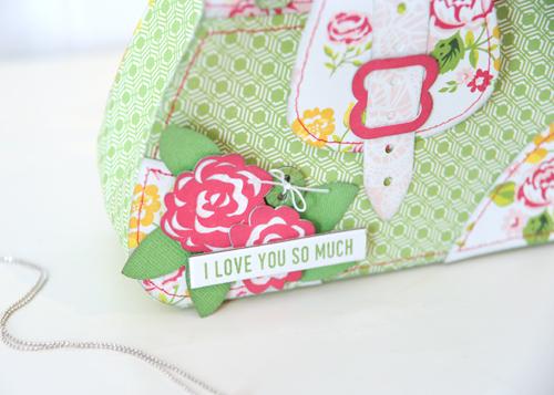 Jana Eubank Petticoats Purse Bag Photo 3
