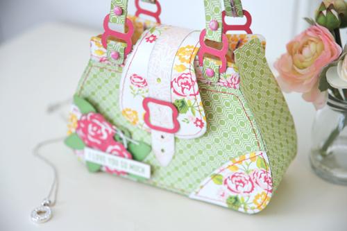 Jana Eubank Petticoats Purse Bag Photo 4