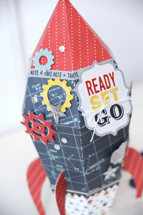 Jana Eubank Pinstripes Rocket Photo 3