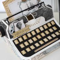 Carta Bella Paper: Typewriter Gift Box