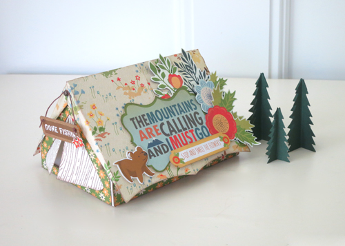 Jana Eubank The Great Outdoors Tent Treat Box Photo 1