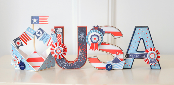 Jana Eubank Sweet Liberty USA Letters Photo 1