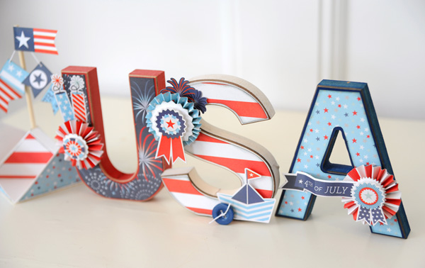 Jana Eubank Sweet Liberty USA Letters Photo 2