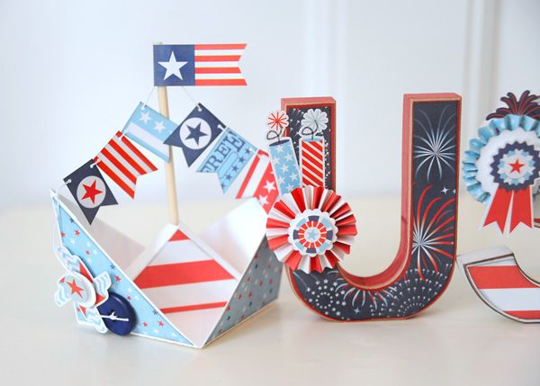 Jana Eubank Sweet Liberty USA Letters Photo 3