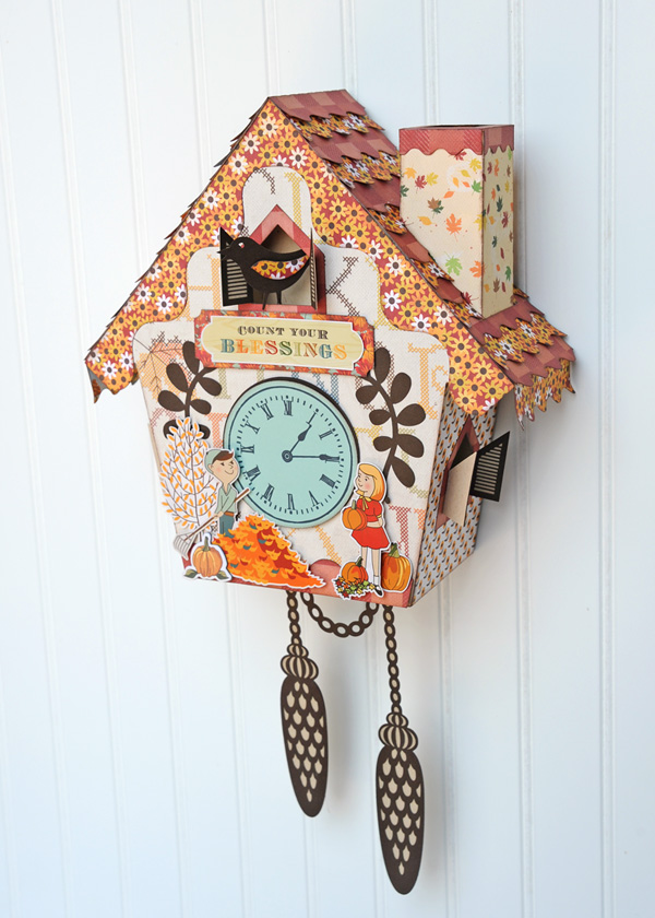 Jana Eubank Autumn Cuckoo Clock Photo 1 600