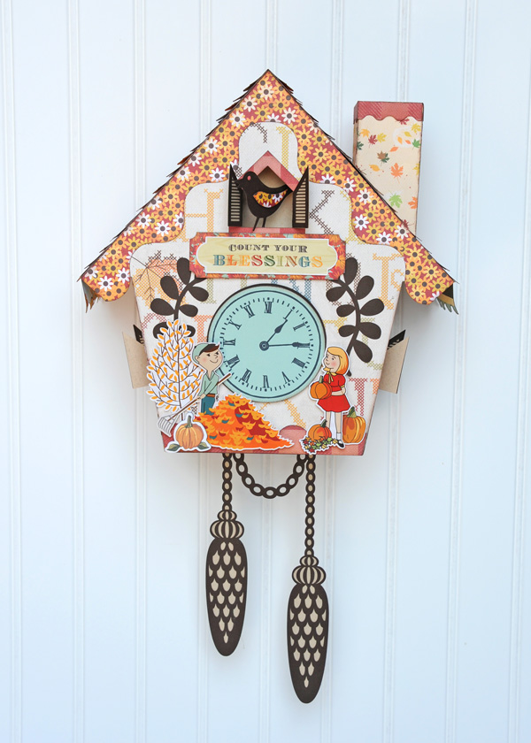 Jana Eubank Autumn Cuckoo Clock Photo 3 600