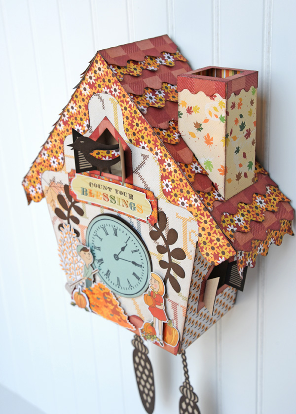 Jana Eubank Autumn Cuckoo Clock Photo 4 600