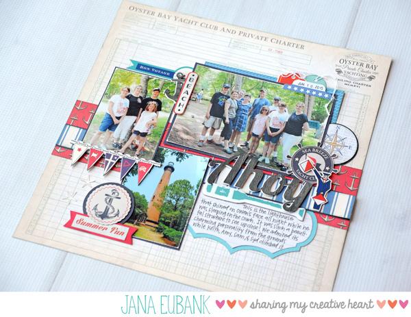 Jana Eubank Carta Bella Paper Yacht Club Ahoy 6