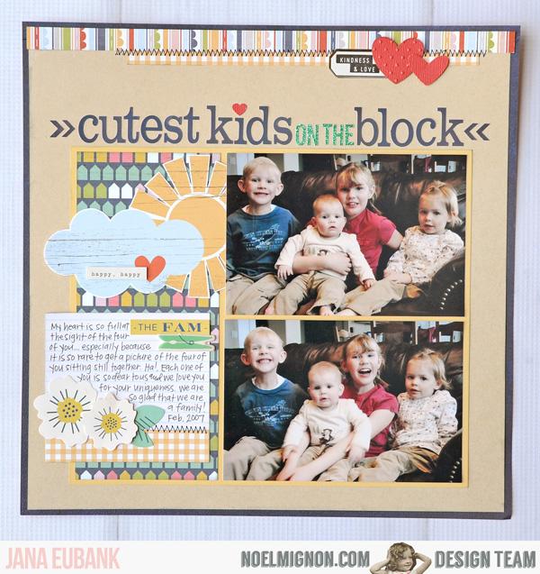 Jana Eubank Noel Mignon Cutest Kids 1