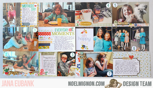Jana Eubank Noel Mignon Pocket Page Everyday 1