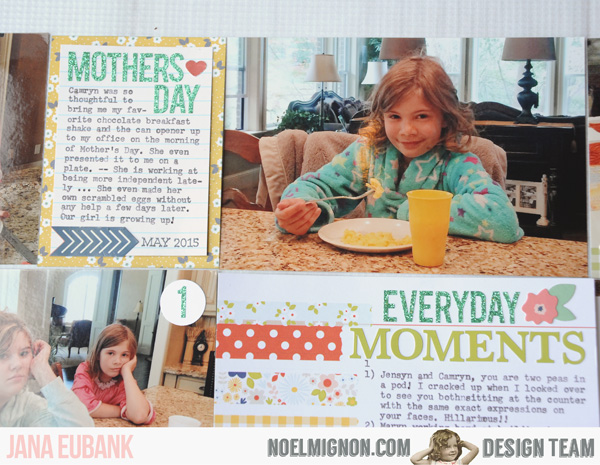 Jana Eubank Noel Mignon Pocket Page Everyday 4