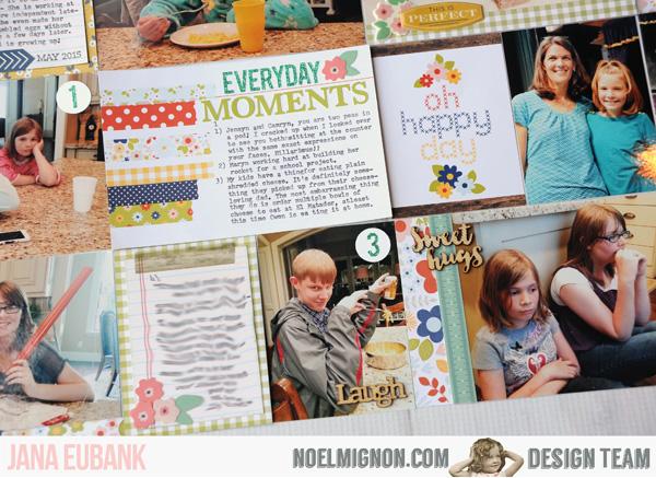 Jana Eubank Noel Mignon Pocket Page Everyday 5