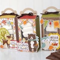 Echo Park Paper: Fall S'mores Treat Boxes