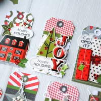 Stashbusting: Creating Christmas Tags