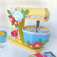 Echo Park: 3d Paper Kitchen Mixer