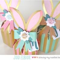 Echo Park Paper: Foil Bunny Box