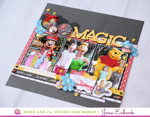 Jana Eubank Queen & Co Magic Disney Layout 5 600
