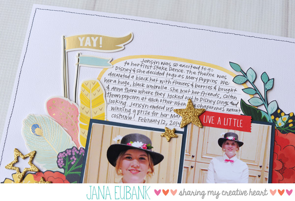 Jana Eubank Scrapbooking Mary Poppins 2