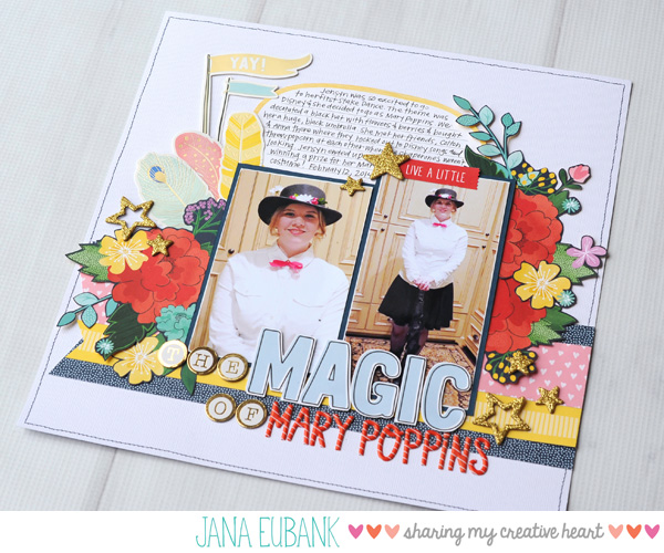 Jana Eubank Scrapbooking Mary Poppins 5
