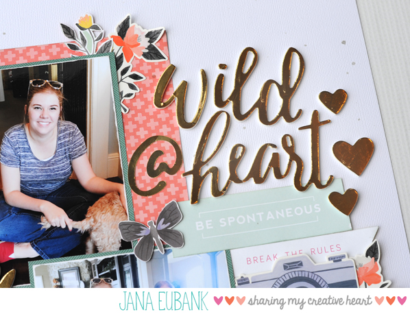 Jana Eubank Scrapbooking Wild at Heart 3