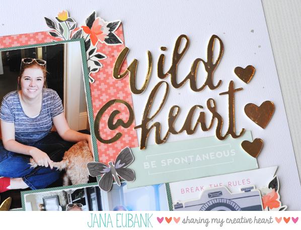 Jana Eubank Scrapbooking Wild at Heart 3