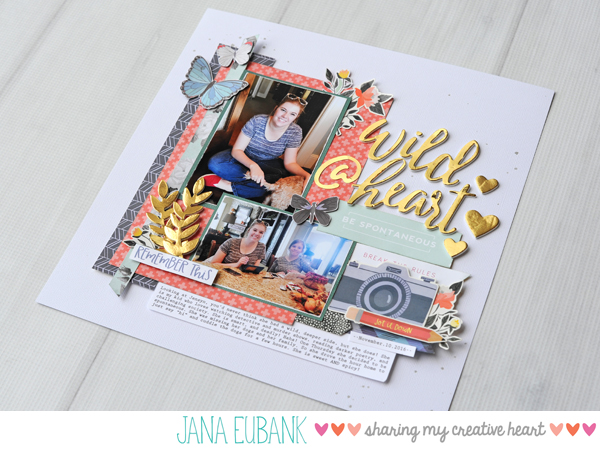 Jana Eubank Scrapbooking Wild at Heart 5