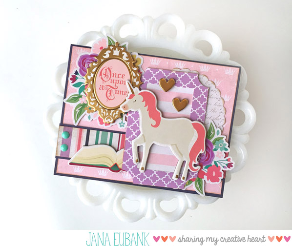 Jana Eubank Once Upon a Princess Unicorn Card 1 600