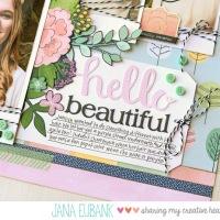 Scrapbook Page: Hello Beautiful