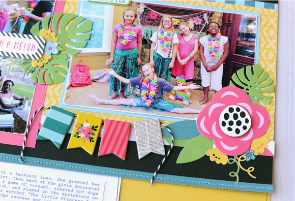Jana Eubank Summer Fun Happy Birthday Layout 6 600