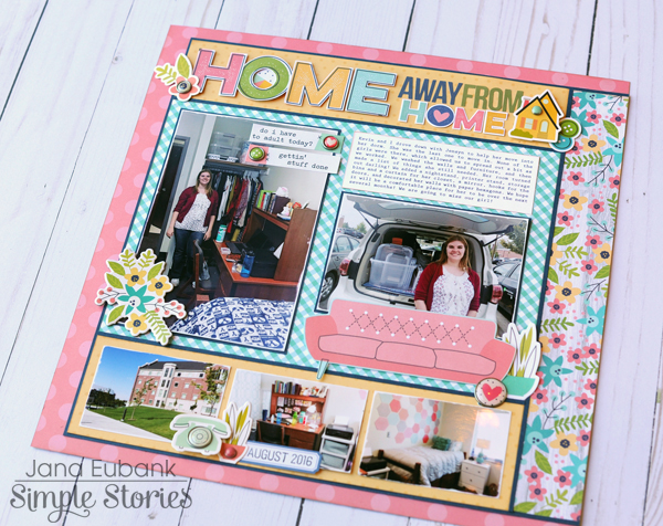 Jana Eubank Simple Stories Domestic Bliss Home Away From Home Layout 5 600