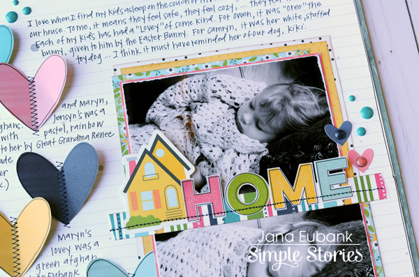 Jana Eubank Simple Stories Domestic Bliss Home Layout 3 600