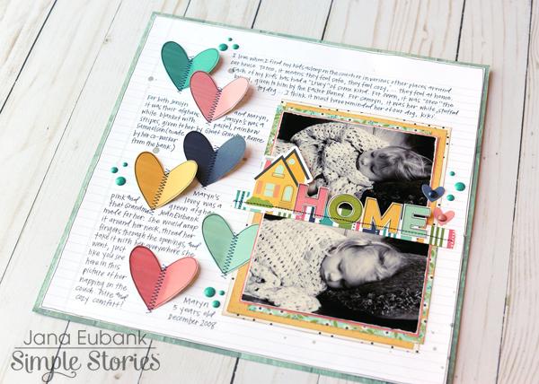 Jana Eubank Simple Stories Domestic Bliss Home Layout 6 600