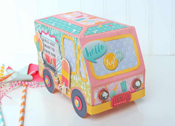 Jana Eubank Summer Dreams Ice Cream Truck 8 600