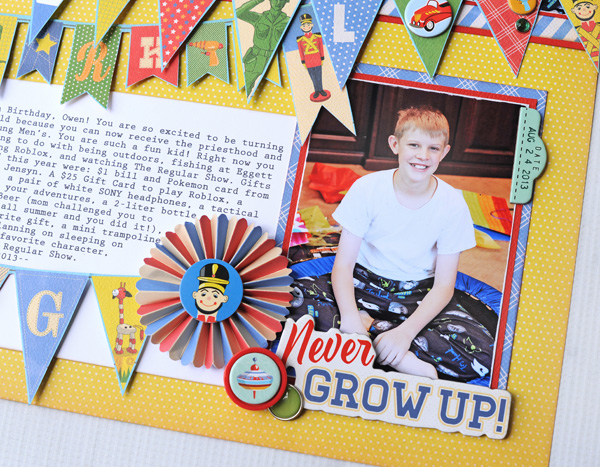 Jana Eubank Toy Box Never Grow Up Layout 6 600