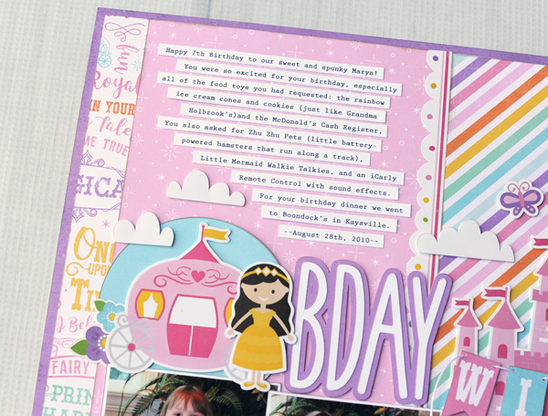 Jana Eubank Perfect Princess Bday Wish Layout 2 600