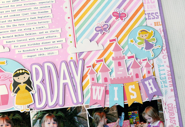 Jana Eubank Perfect Princess Bday Wish Layout 3 600
