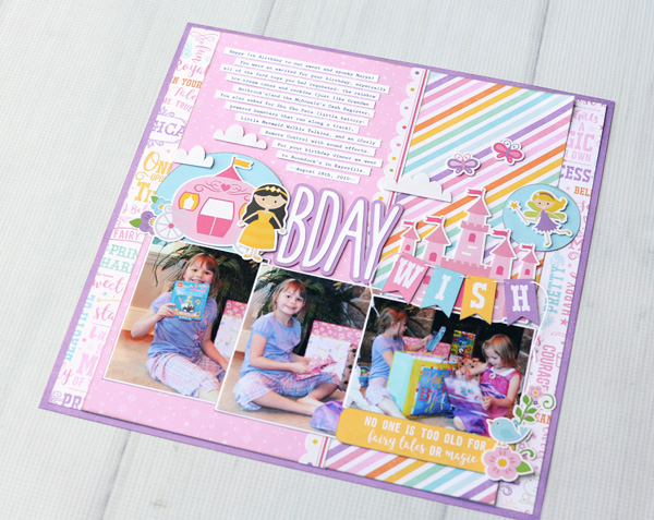 Jana Eubank Perfect Princess Bday Wish Layout 5 600