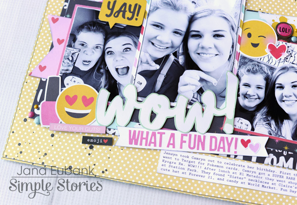 Jana Eubank Simple Stories Emoji Love WOW Layout 4 600