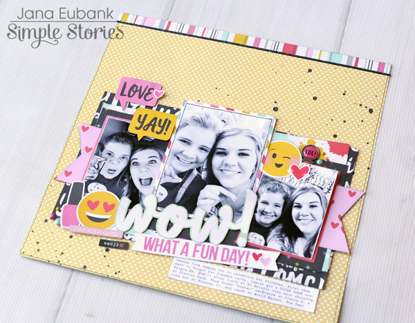 Jana Eubank Simple Stories Emoji Love WOW Layout 5 600