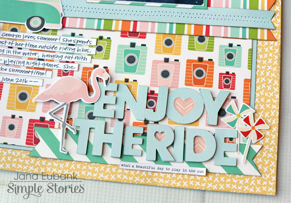 Jana Eubank Simple Stories Summer Days Enjoy the Ride Layout 4 600