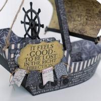 Carta Bella Paper: Pirate Ship