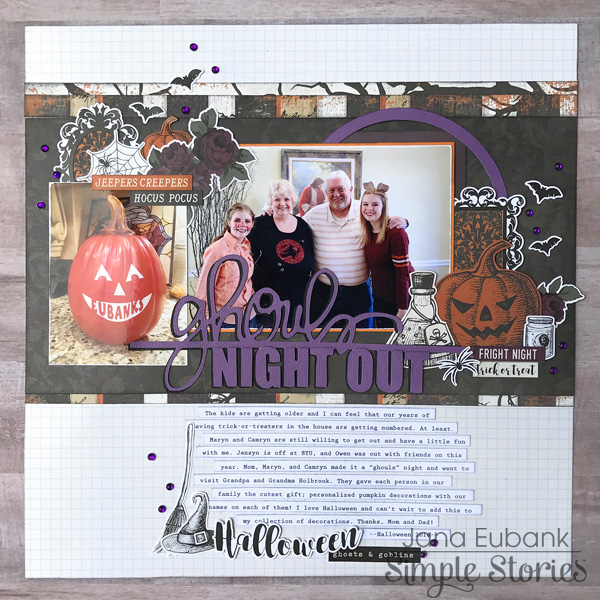 Jana Eubank Simple Stories Spellbound Ghouls Night Out Layout 1 600