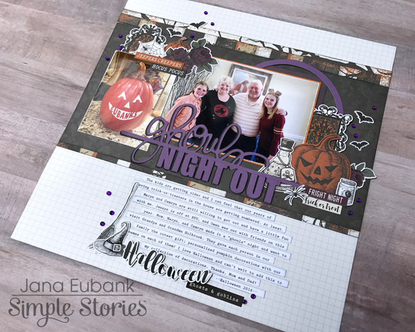 Jana Eubank Simple Stories Spellbound Ghouls Night Out Layout 6 600