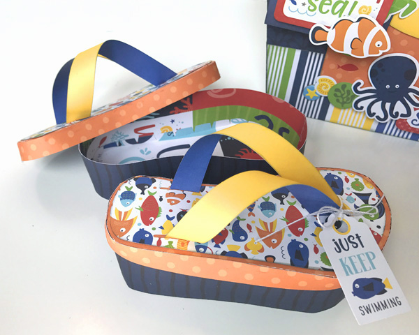 Jana Eubank Under the Sea Beach Tote Flip Flops 2 600